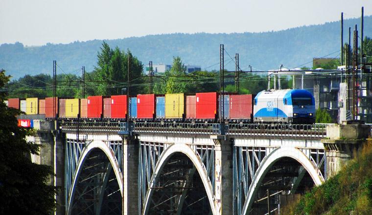 Bahntransport, Güterzug