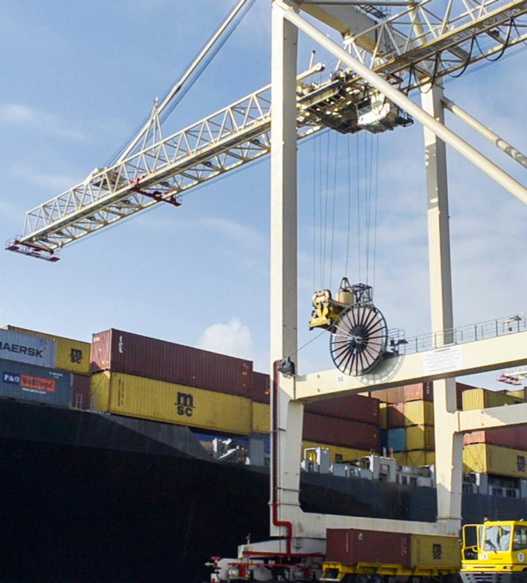 Transporte, Container, Türkei