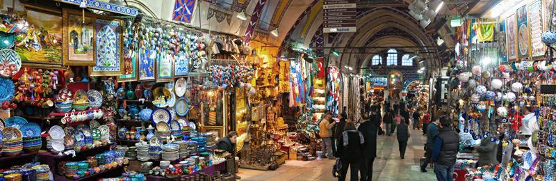 Bazar Istanbul, Handel Türkei